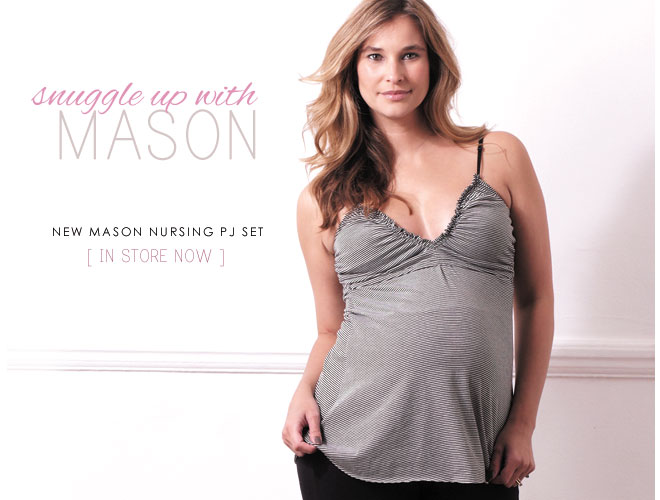 new mason pyjama set by quack maternity