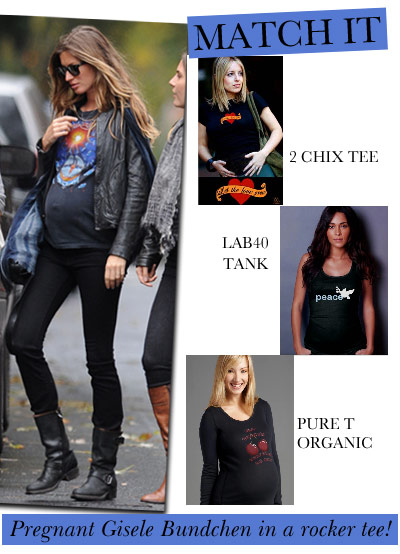 get gisele's look at Queen Bee!