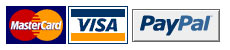 Queen Bee accepts Visa, Mastercard, Paypal, bank deposit, money order or cheque