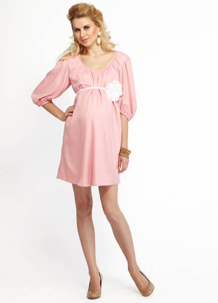 for baby showers women s maternity jersey flare baby shower dress