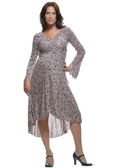 NOM3039 - NOM Print Tulip Dress