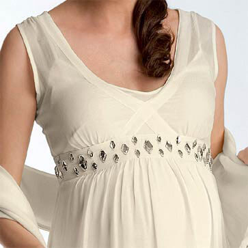 Crave - Sparkling Evening/Wedding Maternity Dress - 2 colours