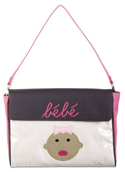 DB1593-4 - Bebe Pink Envelope :  nursing wear nappy bag maternity