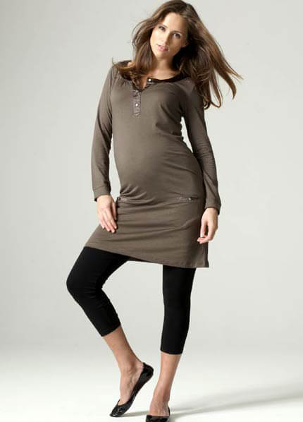 SER0034 - Seraphine Aisha Safari Tunic :  hip maternity wear maternity fashion queen bee maternity maternity dresses