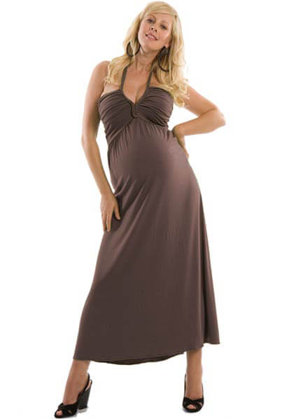 Juliet Dream - Nikki Maternity Maxi Dress :  nursing wear maternity clothing maternity maternity wear