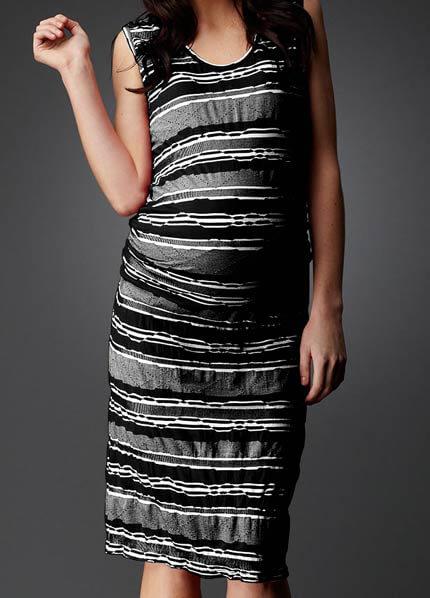 SNH6-814 - SOON Sienna Multi Stripe Tank Dress