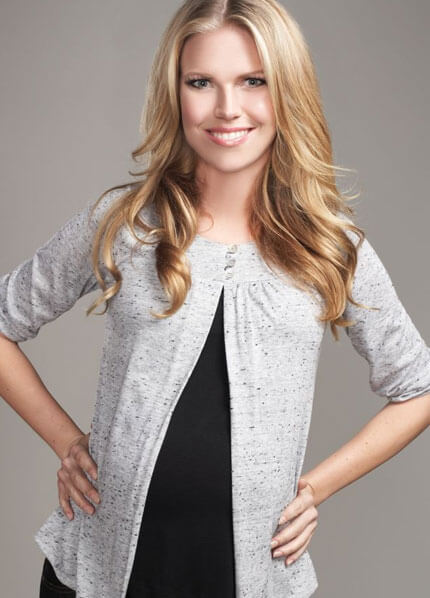 T5243 - 3/4 Sleeve Nursing/Maternity Sweater - perfect for work! :  nursing wear pregnancy maternity clothes maternity clothing