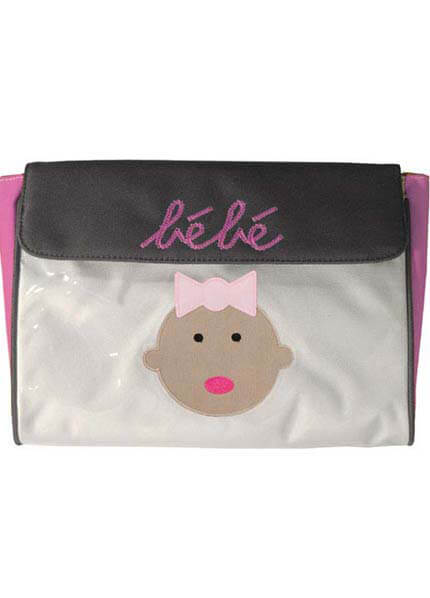 Dante Beatrix - Bebe Envelope in Pink :  nappy bag maternity accessories maternity