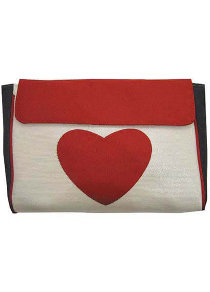 DB1593-6 - Love Heart  Envelope :  nursing wear nappy bag maternity