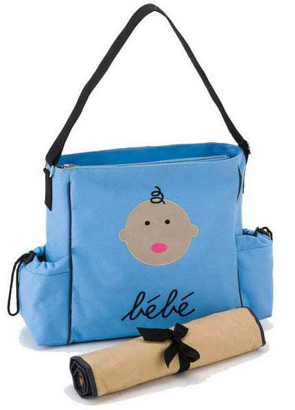 DB1426-5 - Bebe Blue Baby Tote :  nursing wear nappy bag maternity maternity clothing