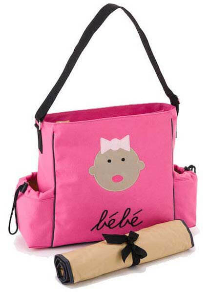 Dante Beatrix - Bebe Baby Tote in Pink