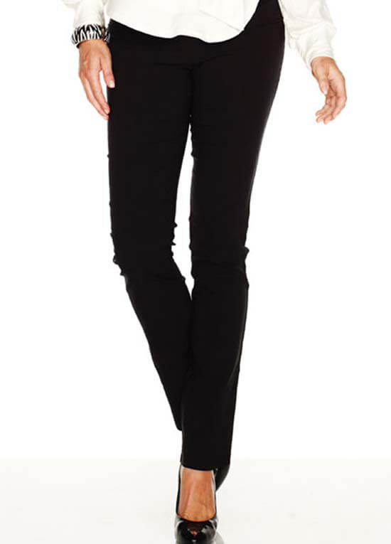 SNH6-515 - SOON Straight Leg Black Pants :  maternity pants maternity fashion queen bee maternity maternity wear