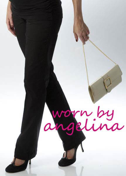 SER0018 - Aurelie Straight Leg Trousers - worn by Angelina Jolie! * FEATURED IN WHO MAGAZINE * :  maternity pants maternity clothes maternity clothing maternity