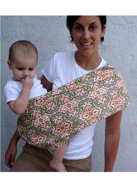 Queen Bee Luxe Rose Temple Garland Baby Carrier by Pippalily