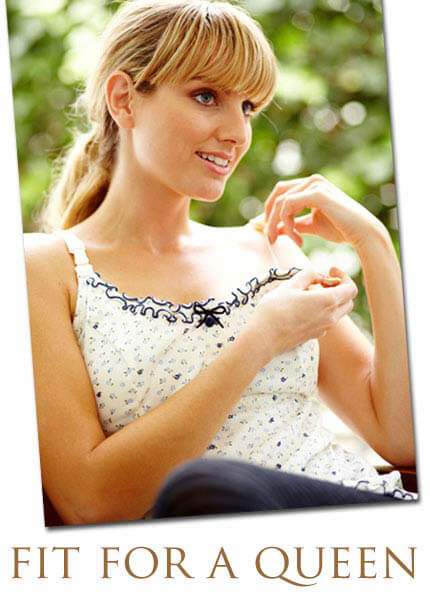QB02 - Fit for a Queen - 2 nursing camis (save $20)