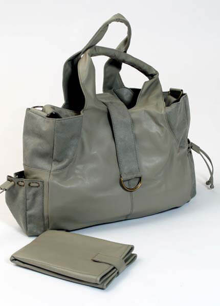 JB01 - Mama Nappy Bag in Slate :  nappy bag maternity accessories maternity