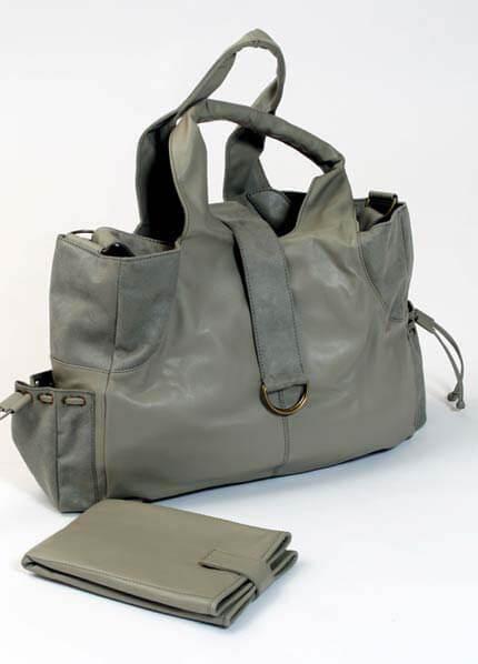 JB Designs - Mama Nappy Bag in Slate :  nursing wear maternity jeans maternity clothing maternity