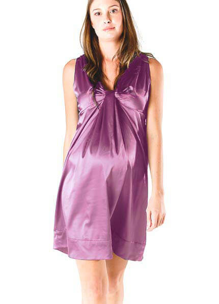 Queen Bee Ava Maternity Dress in Orchid by Soon Maternity
