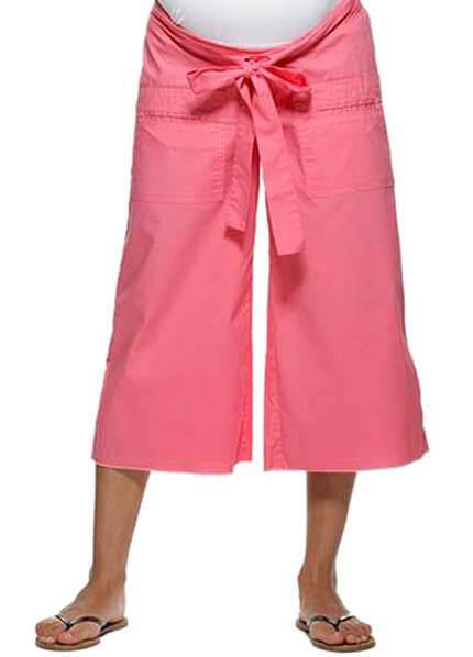 NOM1110 - NOM Castaway Culottes :  maternity pants maternity casual maternity maternity clothing