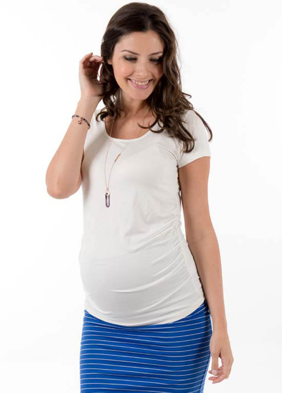 TRI-T-003 - Trimester Dream Maternity Tee - 3 colours :  maternity fashion maternity tops queen bee maternity maternity wear