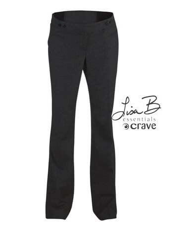 Crave - Essential Cigarette Maternity Pants in Charcoal * ON SALE *