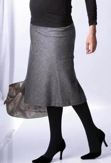 SER0005 - Celine Tweed Maternity Skirt :  maternity fashion queen bee maternity maternity wear maternity