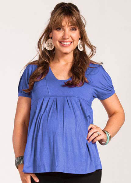 MW3070 - Felicia Nursing Tunic - 2 colours :  nursing wear maternity top nursing top maternity