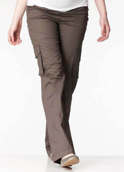 SNS8-549 - SOON Adjustable Band Cargo - 2 colours :  maternity pants hip maternity wear maternity fashion queen bee maternity