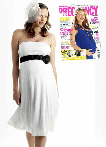 Queen Bee Leona Bustier Maternity Dress by Seraphine