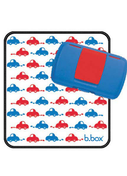 b box Nappy Wallet in Beep Beep from queenbee.com.au