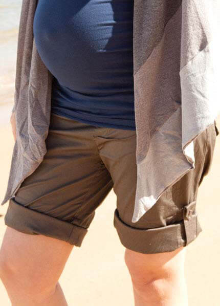 Soon Maternity Cargo Shorts - 3 colours * MUST HAVE *