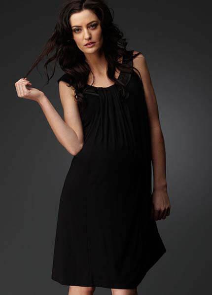 SNS9-818 - Soon Carmen Jersey Maternity Dress