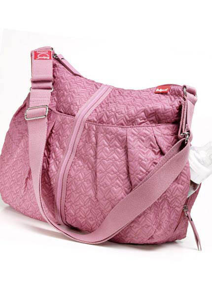 Babymel - Amanda Quilted Baby Bag in Pink