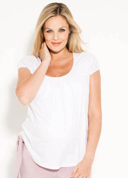 Queen Bee Cloud9 Maternity/Nursing Tee by Amoralia