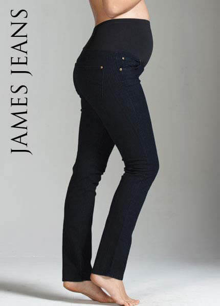 Queen Bee Randi China Doll Maternity Jeans by JamesJeans