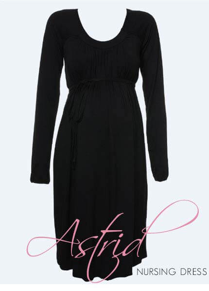 Queen Bee Astrid Nursing / Maternity Dress by Ripe Maternity