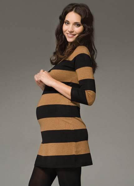 0c2e054295d Victoria Stripe Maternity Tunic/Dress by Ripe Maternity