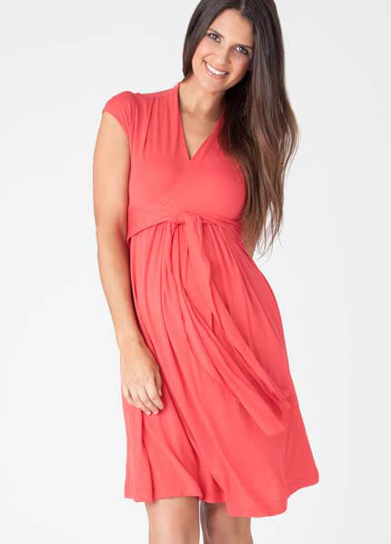 Queen Bee Tulip Chic Knit Maternity Dress by Ripe Maternity