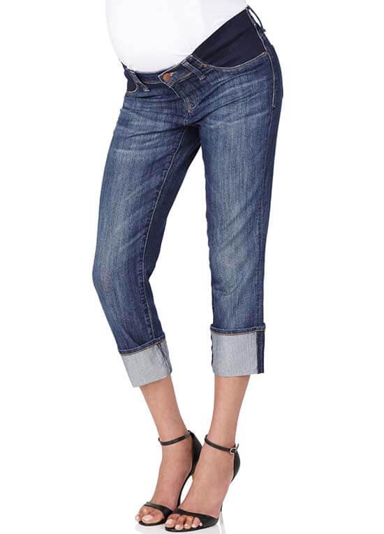 066975112bdcd Nikki Power Nolita Maternity Capri Jeans by Mavi