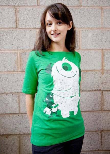 272992b733571 Green Monster Stan Nursing Tee by MamaFeelsGood