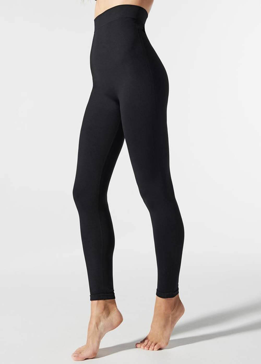 7061e48f8a2d6 High Waist Postpartum Support Leggings in Black by Blanqi