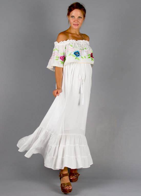 1232dc5318d Seeker Lover Keeper Maternity Nursing Maxi Dress by Fillyboo
