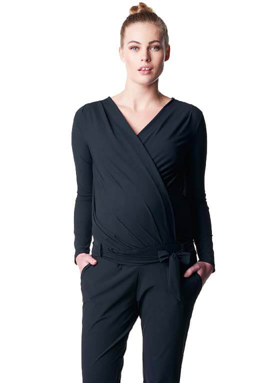 0437ac3bba2 Cal Black Maternity Nursing Jumpsuit by Noppies