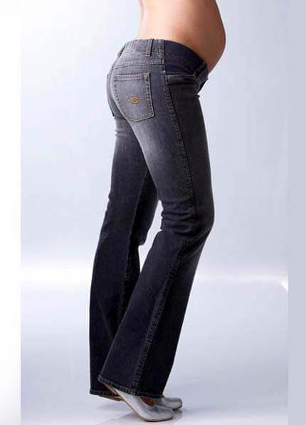 SER0002 -  Seraphine Straight Leg Black Jeans :  maternity fashion queen bee maternity maternity wear maternity