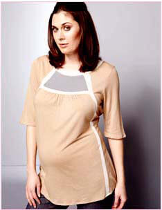 Lauren Kiyomi - Zen Maternity Tunic * ON SALE * :  maternity maternity clothes maternity fashion maternity tops