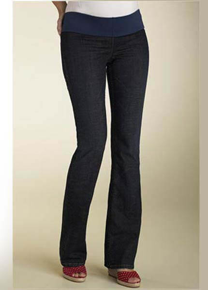 Crave - Vintage Wash Straight Leg Maternity Jeans * ON SALE * :  nursing wear maternity jeans maternity clothing maternity