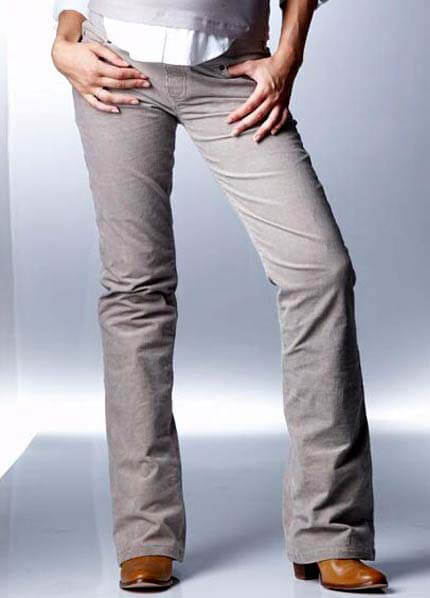 SER0004 - Seraphine  Sand Bootleg Cord Trousers * ON SALE * :  maternity pants maternity fashion queen bee maternity maternity wear