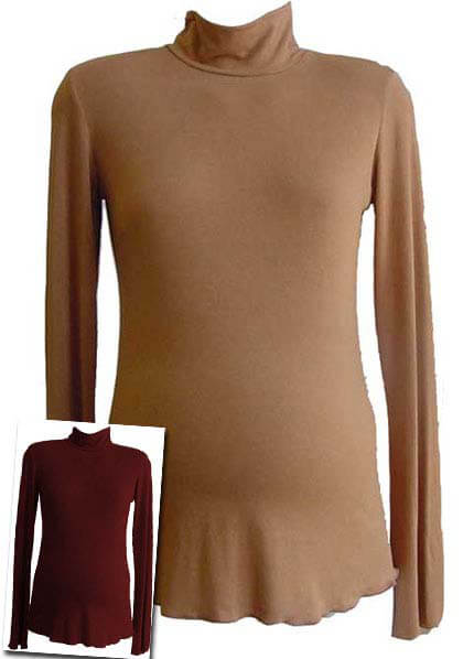 Lait - Caitlin Maternity Turtleneck * ON SALE * :  maternity work clothes maternity loungewear maternity work wear maternity tops
