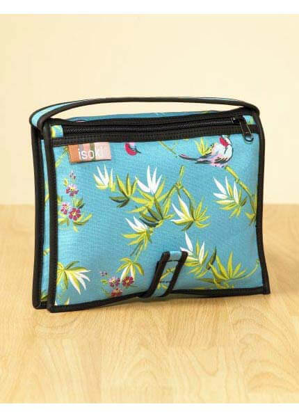 IS01 - Isoki -  Petite Traveller - Bahama Birds :  nappy bag maternity accessories maternity