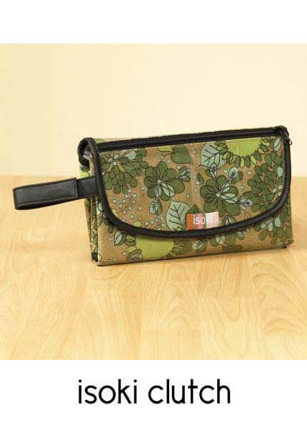 IS05 - Isoki - Change Mat Clutch - Vintage Floral SOLD OUT :  nappy bag ma
